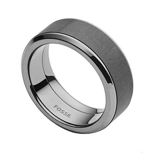 Fossil Herren-Ringe Edelstahl mit \'- Ringgröße 56 JF02368793-8