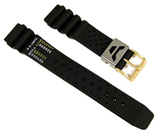Citizen Marken Ersatzband Uhrenarmband Kautschuk 19mm für Promaster Diver Aqualand AL0024-06W