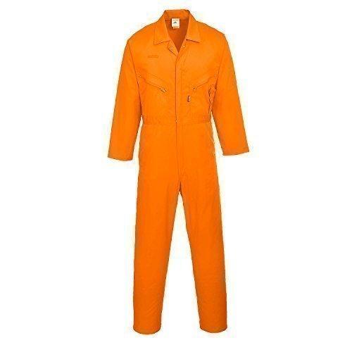 Liverpool Blaumann/Arbeits-Overall - Reißverschluss - Handytasche - Berufsbekleidung In Den Größen S-5XL - C813 - XXL, orange