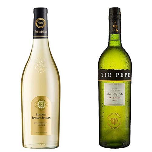 Blanco De Los Blancos Y Tío Pepe - Barbadillo Y González Byass - 2 Botellas De 750 Ml