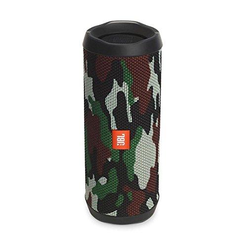 JBL FLIP 4 (Ein voll ausgestatteter, wasserdichter und mobiler Bluetooth-Lautsprecher mit überraschend kraftvollem Sound) camo