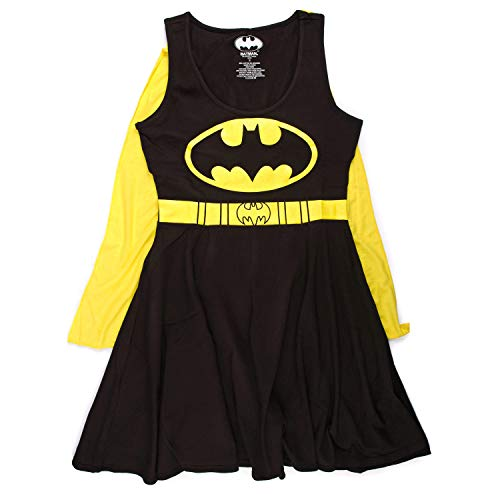 DC Comics Batman Logo Juniors Cape Dress | L
