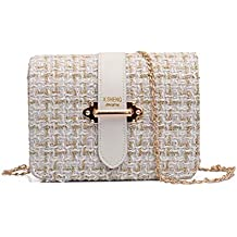 outlet bolsos - Blanco - Amazon.es