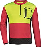 Forst Shirt Forest Jack Red Funktionsshirt Arbeitsshirt (L, gelb-rot-grau)