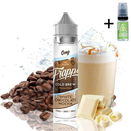 E Liquid Frappe Cold Brew White Chocolate Mocha 50ml
