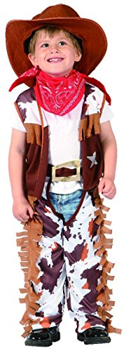 P 'tit Clown – 92281 – Kostüm Meerestier, – Cow Boy – 80/92 cm – 1/2 Jahre