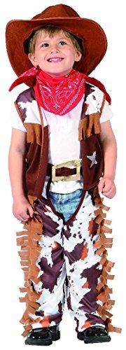 Unbekannt P 'Tit Clown–92281–Kostüm Meerestier,–Cow Boy–80/92cm–1/2Jahre