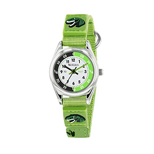 Tikkers Boys Analogue Quartz Watch with Textile Strap TK0149 Best Price and Cheapest