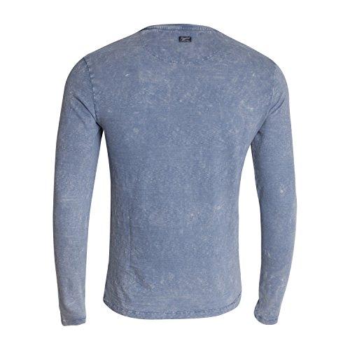 "Langarmshirt ""M-SS17-TLR602"" - von Petrol Industries Blue Grey"