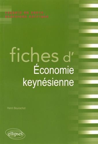 Fiches d'Économie Keynésienne