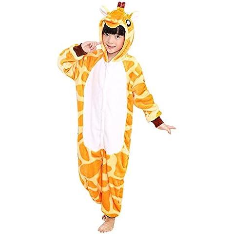 Gillbro animado cosplay animal del niño de los pijamas del traje