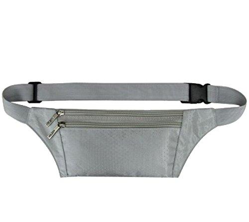 Multifunktionale Outdoor Fitness Sporttaschen Mehrfarbig Silver
