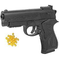 Mini Toy Gun for Kids and 6 mm Plastic BB Bullets (Pistol Gun Toy for Kids),Police Gun for Kids with Bullets