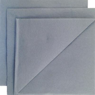Serviette papier micropointe Gris 38x38cm par 80 c2c7548649c