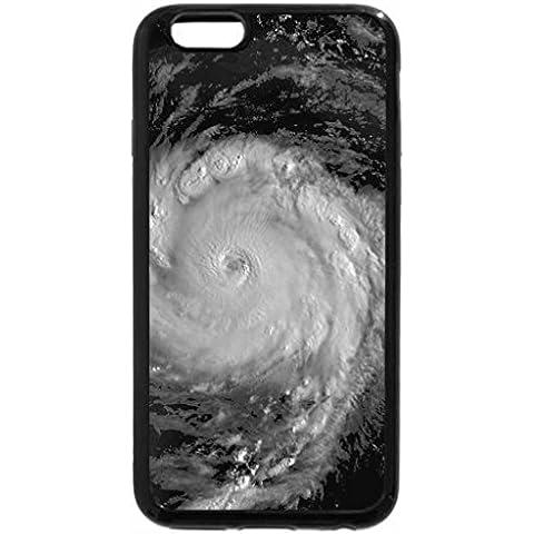 iPhone 6S Plus Case, iPhone 6 Plus Case (Black & White) - Hurricane Dean