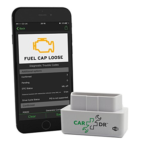 Car DrTM - OBD2 Scanner, Car Diagnostic Tool - Compatible with iPhone, Samsung & Android