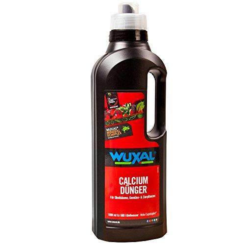 Wuxal Calciumdünger 1 Liter für Obstbäume und Gemüsepflanzen
