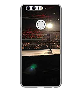 Fuson Designer Back Case Cover for Huawei Honor 8 (Boxing Game Sport stadium Boxing ring)