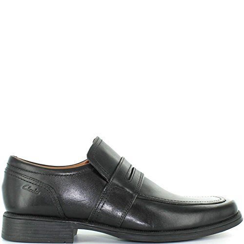 Clarks huckley work cuir noir