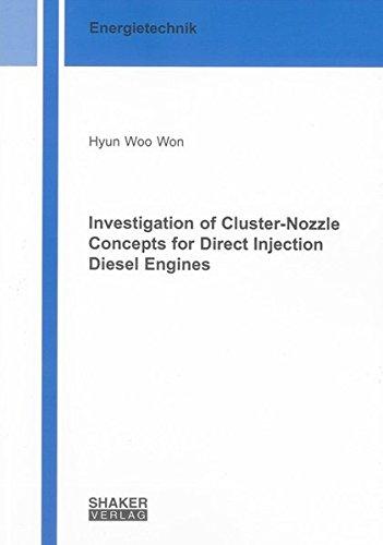 Investigation of Cluster-Nozzle Concepts for Direct Injection Diesel Engines (Berichte aus der Energietechnik) Swirl Shaker