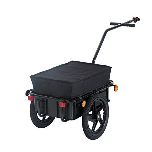 Homcom Bicycle Trailer - Black