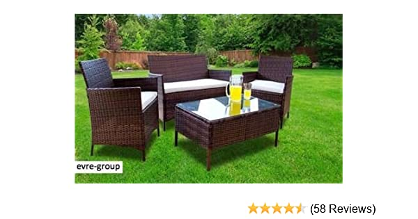 Evre Home Living Rattan Garden Furniture Set Patio Conservatory Mesmerizing Home And Garden Furniture Collection