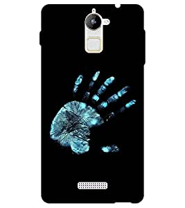 Chiraiyaa Designer Printed Premium Back Cover Case for Coolpad Note 3 Lite (Hand print xray) (Multicolor)