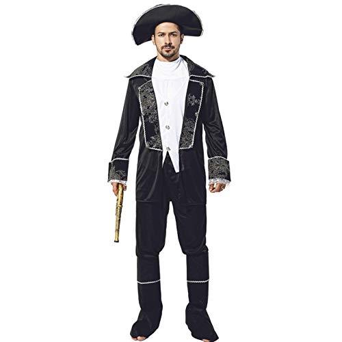 Blisfille Erwachsene Halloween Piratenkostüm Cosplay Karibik Pirate Kostüm Jack Frauen Kleidung Prom Party F Für Damen