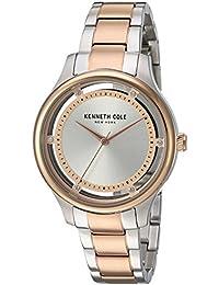 Montre Kenneth Cole Femme modèle Transparency Argentée et Rose Dorée - 10030798
