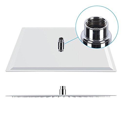 Soffione doccia, in acciaio inossidabile Sottile e leggero Dimensione 50x50