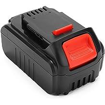 Creabest Reemplazo Batería de litio de 18V 5,0Ah para DEWALT DCB181 DCB182 DCB183-XJ DCB184 DCB204-2 DCB205-2