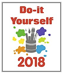 Teneues calendars stationery books related products dvd cd 2018 do it yourself calendar white 24 x 31 cm solutioingenieria Images