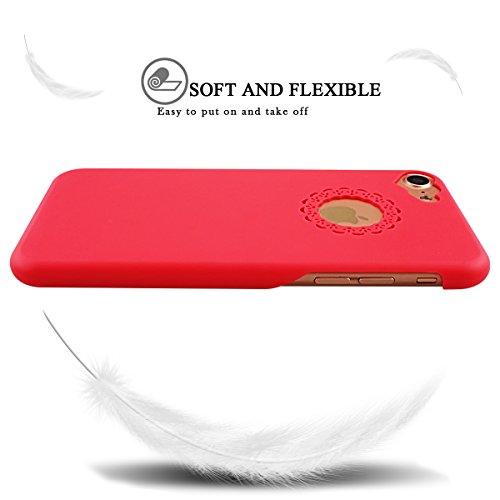 iPhone 6S Plus Hülle, iPhone 6 Plus Hülle, SpiritSun Transparent Schutzhülle für Apple iPhone 6 6S Plus (5.5 Zoll) PC Hart Handyhülle Extrem Dünne Bumper Cover mit Stylus Pen - Gelb Gelb