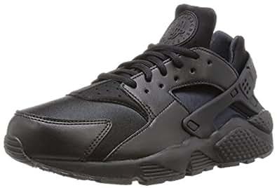 Nike Wmns Air Huarache Run, Women's Sneakers, Black, 3.5 UK