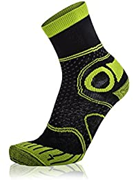 EIGHT SOX de senderismo Trekking Calcetines Merino Varios colores Black/Light Green Talla:45-47