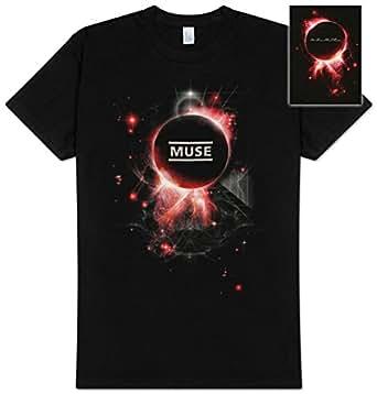 Muse - - Neutron Star Adult Kurzarm T-Shirt, XX-Large, Black