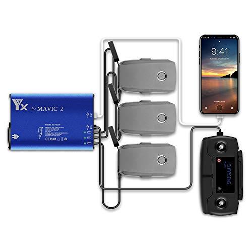 PENIVO 5 in 1 Multi Intelligente Battery Charging Hub akku ladegerät für DJI Mavic 2 Zoom/Pro Drone Zubehör