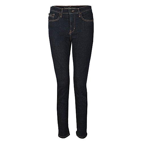 Calvin Klein Skinny High Rise Jean, Top Rinse