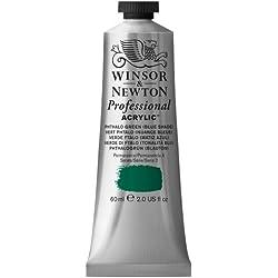 Winsor & Newton Professional - Pintura acrílica tubo 60 ml, color Verde