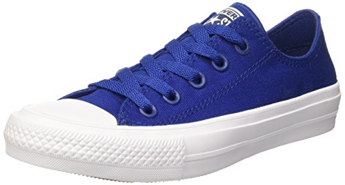converse-chuck-taylor-all-star-ii-low-zapatillas-unisex-adulto-azul-blu-45-eu