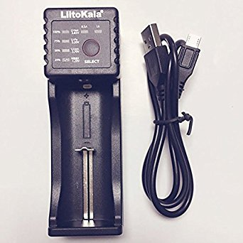 Bazaar LiitoKala Lii-100 0.5a / 1a li-ion ni-mh chargeur de batterie usb
