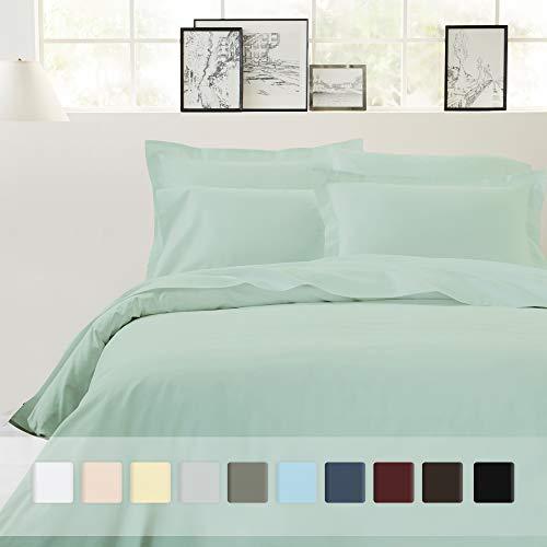 California Design Den Bettwäsche-Set, Fadenzahl 400, 100% Baumwolle Duvet Cover Set - Full/Queen Mod Spa -
