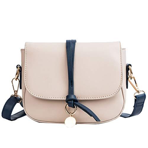 Mitlfuny handbemalte Ledertasche, Schultertasche, Geschenk, Handgefertigte Tasche,Damenmode Reine Farbe Ein-Schulter-Hand Kleine Satteltasche