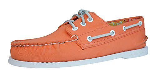 Sperry Top Sider A/O 3 Eye Canvas Chaussures bateau Hommes Orange