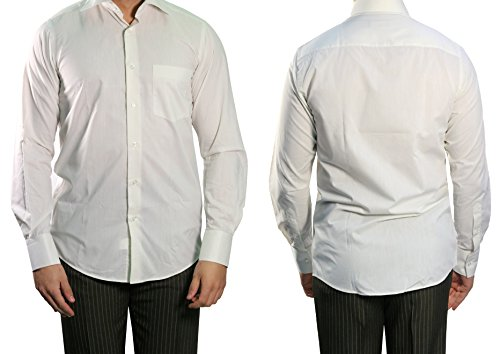 MUGA Herrenhemd Kent Kragen Dunkelcreme