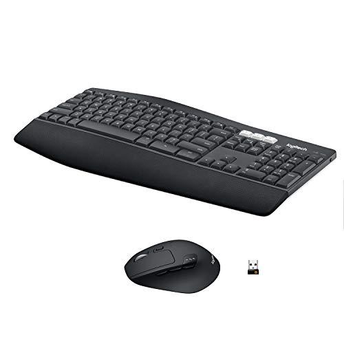 Logitech MK850 Performance Kabellose Tastatur und Maus Combo (USB, Bluetooth) QWERTZ Deutsches layout -