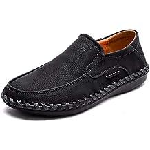 Mocasines para Hombre cómodo Split Pisos otoño Zapatos Casuales ...