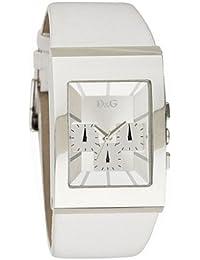 00b8ca200f05 Dolce Gabbana - 3719740250 - Montre Homme - Quartz - Chronographe - Bracelet  Cuir Blanc