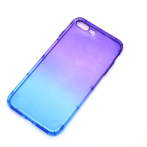 Vandot iPhone 6S Plus Hülle, iPhone 6 Plus Hülle, Beidseitiger Full Body 360° Schutz Schutzhülle für iPhone 6 Plus/6S Plus 5.5 Zoll TPU Silikon Transparent Dünne Case Cover Komplette Gehäuse Handytasc Color 11