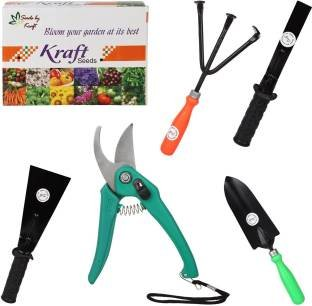 GARDEN TOOL BOX BY KRAFT SEEDS (5 in 1 Box)